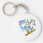 Softball Mom Key Chain