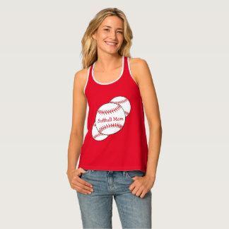 Softball Mom Sports Tank Top