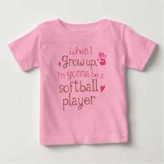 Softball Player (Future) Infant Baby T-Shirt