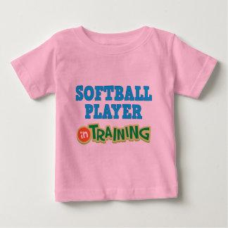 Softball Player In Training (Future) Baby T-Shirt