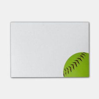 softball post it notes
