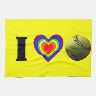 Softball Pride Kitchen Towel