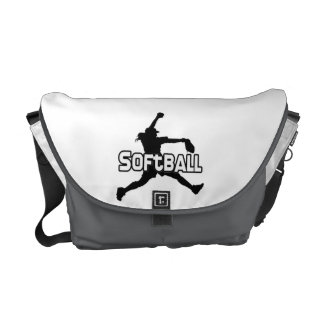 Softball Sports Courier Bags