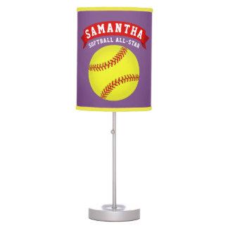 Softball Table Lamp