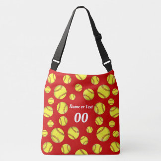 Softball Tote Bag with Name, Number or Monogram