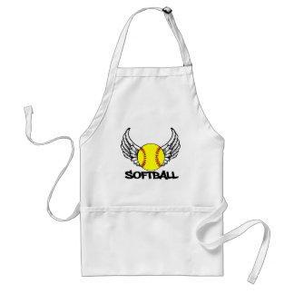Softball with Wings Apron