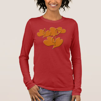 Softer Side of Orange Long Sleeve T-Shirt