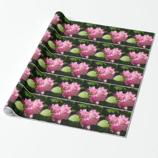 Softly Painted Pink Peonies Wrapping Paper