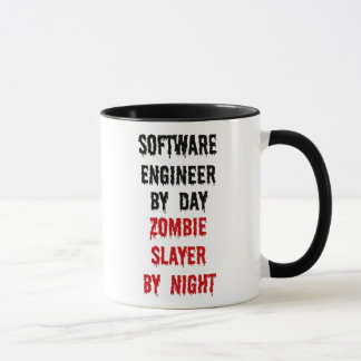 Software Engineer Zombie Slayer Mug