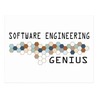 Software Engineering Genius Post Card