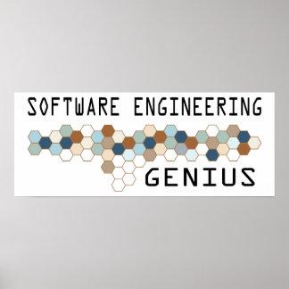 Software Engineering Genius Poster