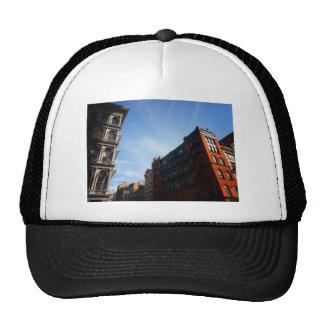 Soho Buildings Against A Blue Sky Hat
