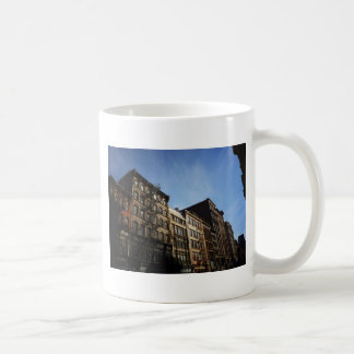 Soho Buildings In The Sun, New York City Basic White Mug