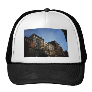 Soho Buildings In The Sun, New York City Hats