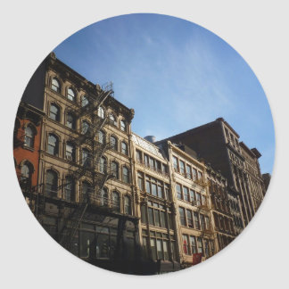 Soho Buildings In The Sun, New York City Stickers
