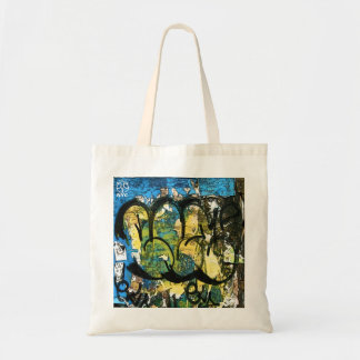 Soho Graffiti Tote Bag
