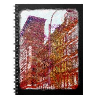 Soho, New York City Notepad Notebook
