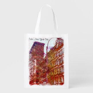 Soho New York City Reusable Grocery Bag