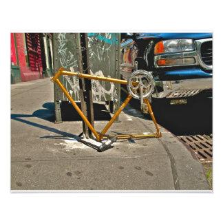 SOHO NYC Bicycle Photo Print