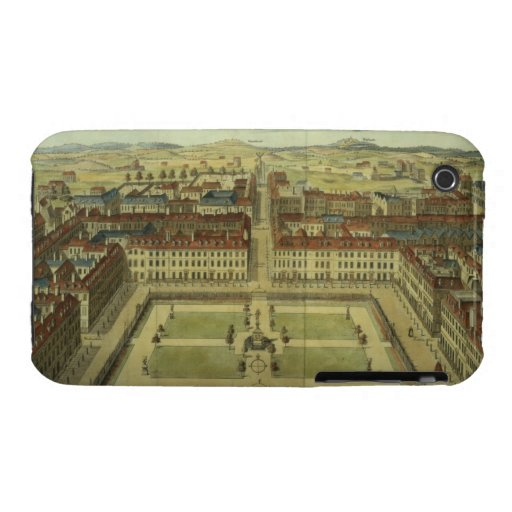Soho or King's Square, for 'Stow's Survey of Londo iPhone 3 Cases