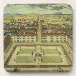 Soho or King's Square, for 'Stow's Survey of Londo Drink Coasters