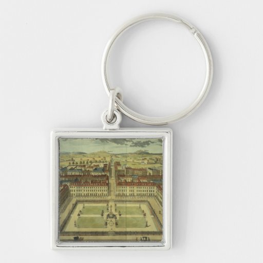 Soho or King's Square, for 'Stow's Survey of Londo Key Chain