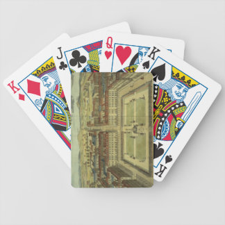Soho or King's Square, for 'Stow's Survey of Londo Bicycle Card Deck