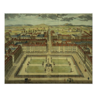 Soho or King's Square, for 'Stow's Survey of Londo Print