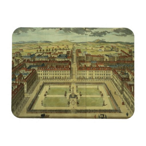 Soho or King's Square, for 'Stow's Survey of Londo Magnets
