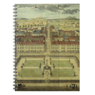 Soho or King's Square, for 'Stow's Survey of Londo Spiral Note Book