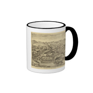 Soho Saw and Planing Mills and Barge Yards Coffee Mugs