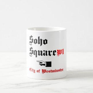 Soho Square Basic White Mug