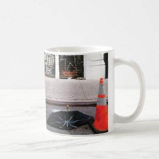SoHo umbrella corpse (orange cone) Coffee Mug