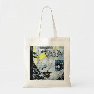 Soho Wall Art Girl Face Tote Bag