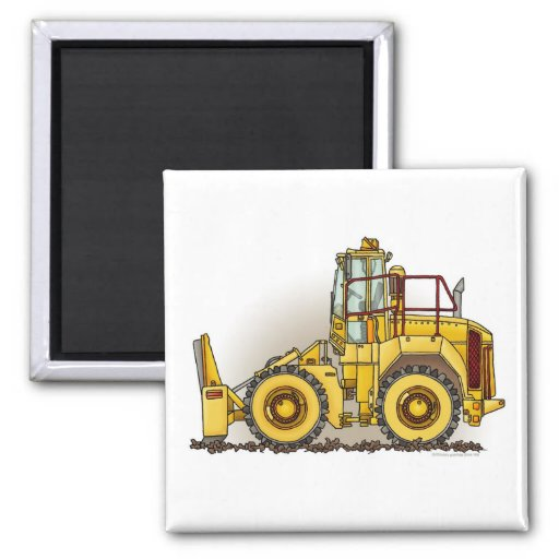 Soil Compactor Square Magnet