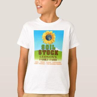 Soil Stock - Ledson's Family CSA Farm Kid's Shirt