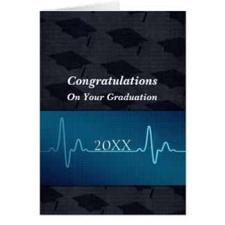 Soins médical docteur Graduation Carte