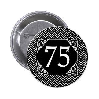 Soixante-quinzième anniversaire de Chevron Badges