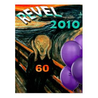 Soixantième anniversaire drôle cartes postales