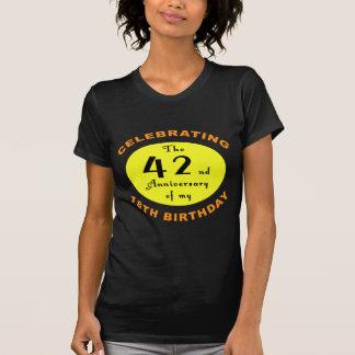 soixantième Cadeau de bâillon d'anniversaire T-shirts