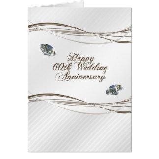 Soixantième carte heureuse d anniversaire de maria