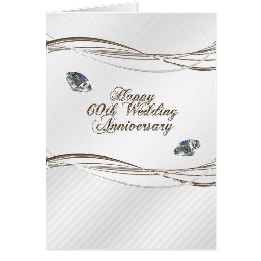 Soixantième carte heureuse d'anniversaire de maria