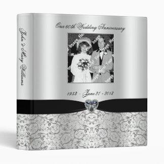 soixantième Classeur d'anniversaire de mariage