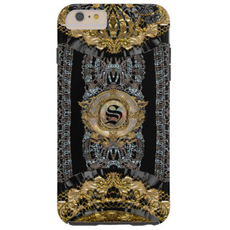 Sojeye Plus Old Baroque Style 6/6s Monogram Tough iPhone 6 Plus Case