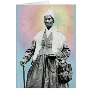 Sojourner Truth - rainbow, detail Note Card