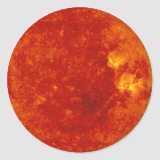 Sol 1 classic round sticker