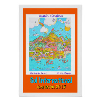 Sol International, Jam Cruise 2015 poster