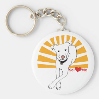 Sol loves me keychain