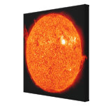 Solar activity on the Sun Canvas Print