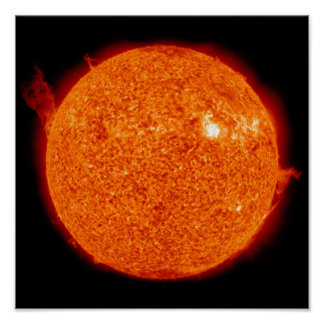 Solar activity on the Sun Poster
